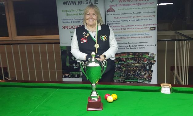 Annette Newman Wins her 6th National Billiards Title in a row in Newbridge