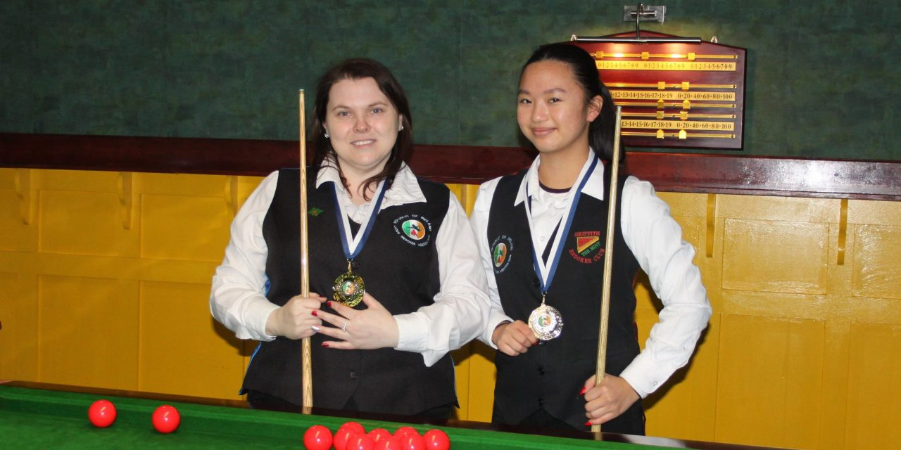 Joanna Ward Wins Intermediate Snooker Ranking 2 at the RILSA Academy Sharkx Newbridge