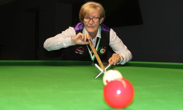 Stephanie Foley on course to take the Number 1 spot on the Intermediate Billiards Tour 2021