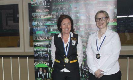 Louise Maher Wins her first National Intermediate Ranking Title at the RILSA Academy Sharkx Newbridge