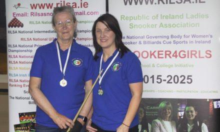 Stephanie Foley Wins Intermediate Billiards Ranking 3 at the RILSA Academy Newbridge