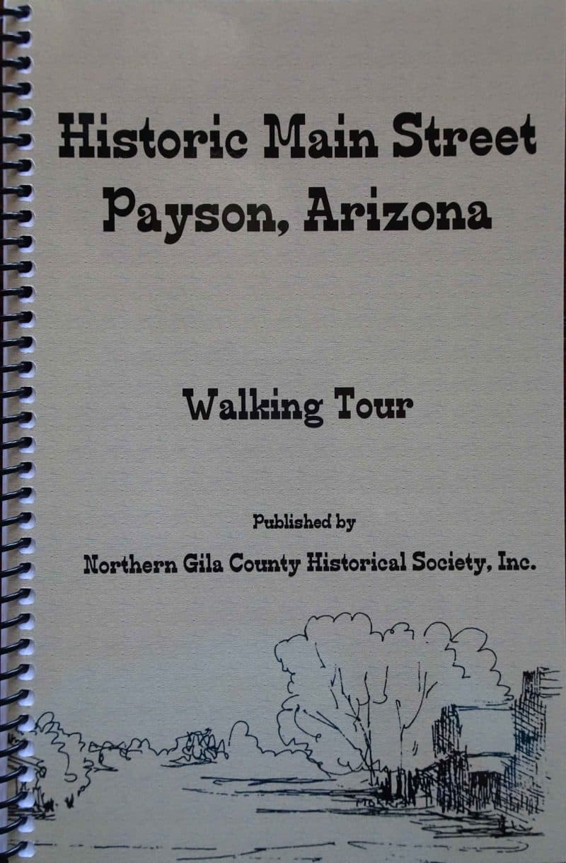 Historic main street payson arizona walking tour rim country museum historic main street payson arizona walking tour publicscrutiny Images