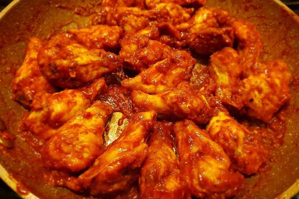Blistering Hot Chilli Chicken Wings