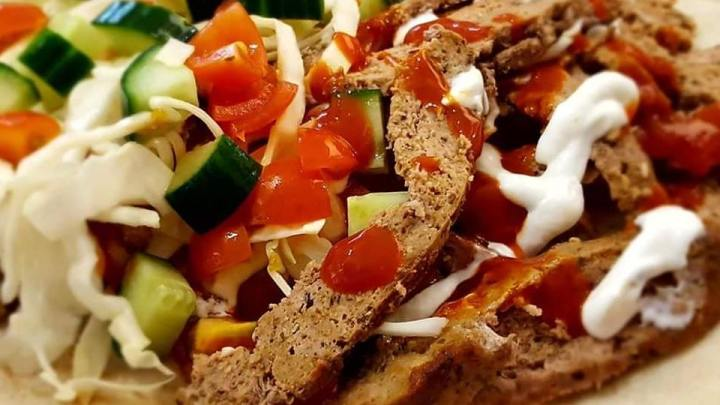 Homemade Doner Kebab