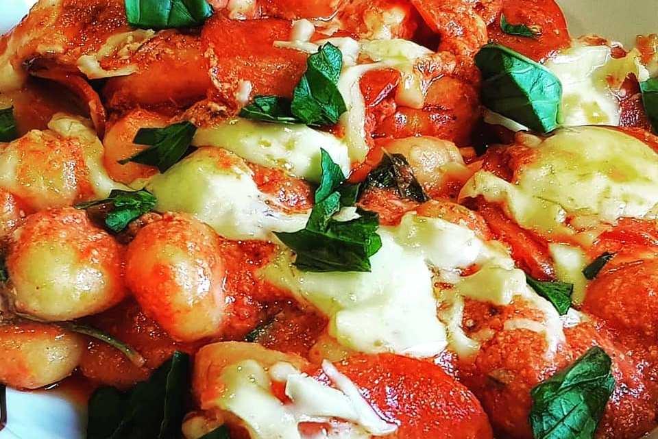 Pepperoni Pizza Gnocchi