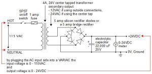 24V DC Power Supply (homemadeDIY)