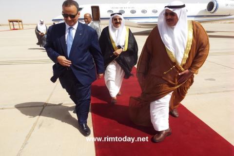 الشيخ فهد سعد العبد الله السالم الصباح يمثل أمير دولة الكويت في