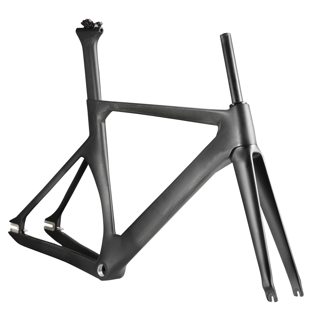 Fixie carbon bike frame