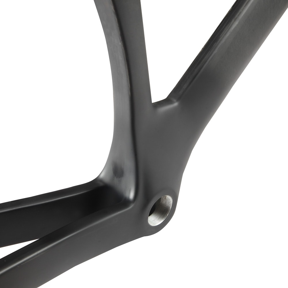 Fixie carbon bike frame BB