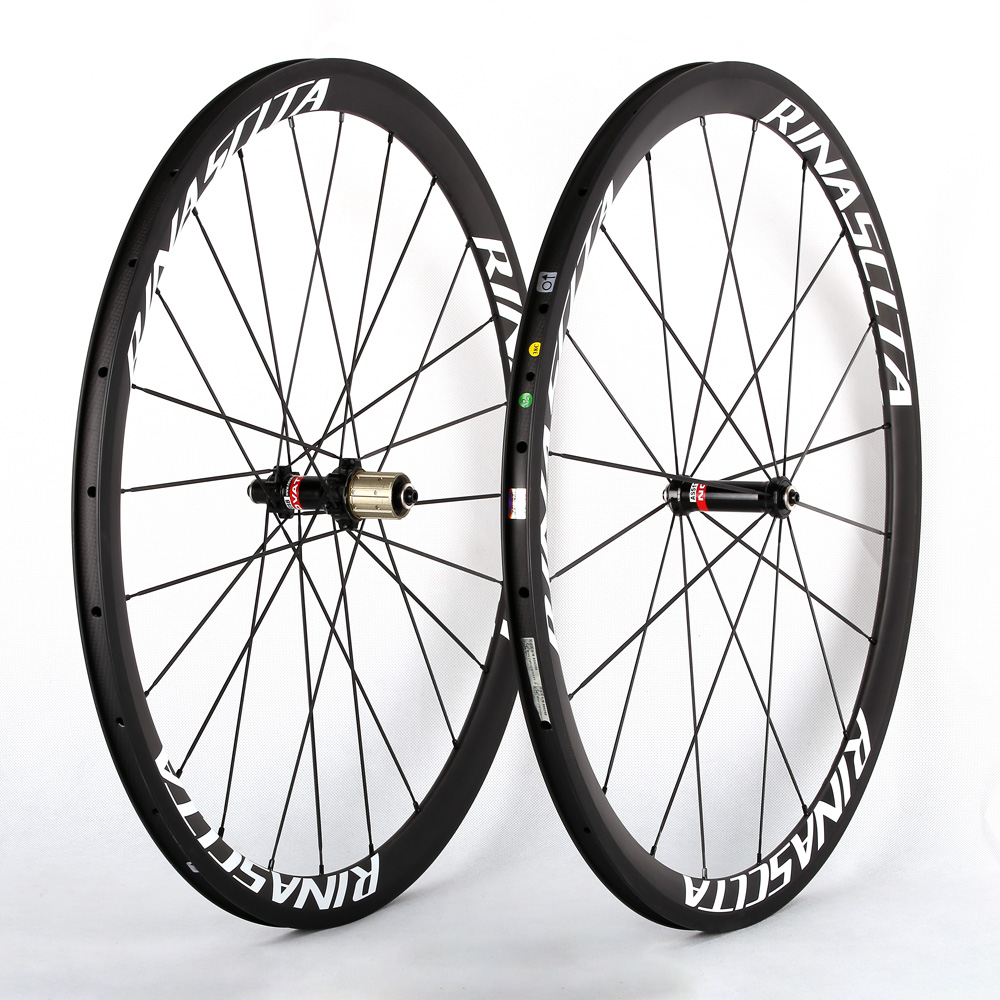 Rinasclta carbon fiber road bike wheelset