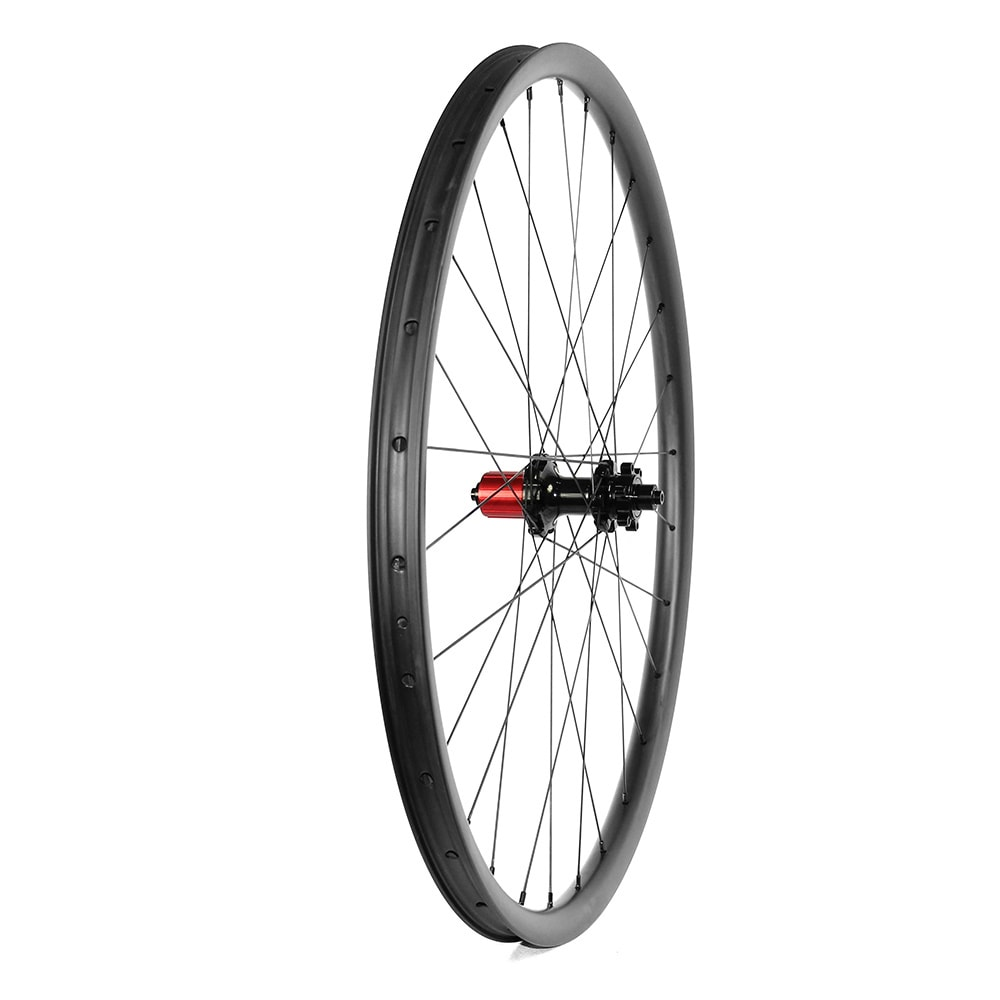 MTB 27.5er wheelset symmetry