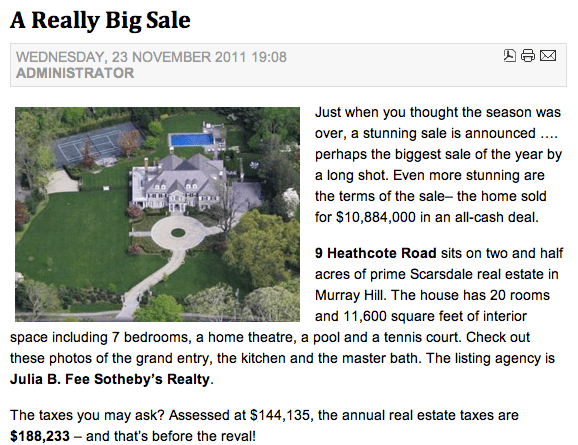 Beyonce & Jay Z Rumors/Facts on Heathcote Rd, Scarsdale, NY  (6/6)