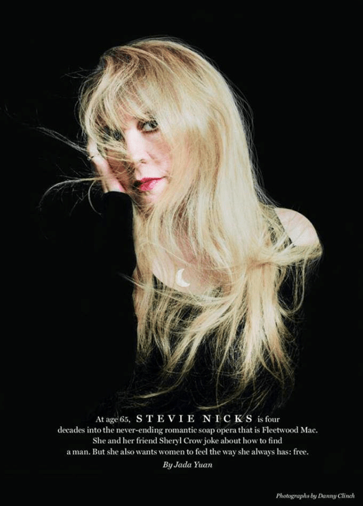 Stevie Nicks, the Fairy Godmother of Rock Who's Following Her Muse to 24 Karat Gold (6/6)