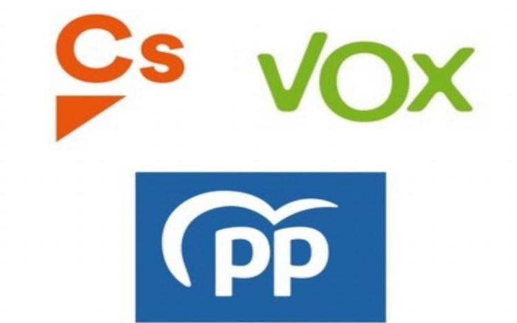 PP Ciudadanos VOX