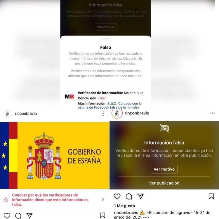 Censura Instagram