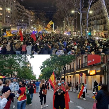 Manifestaciones Pablo Hasél