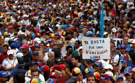 Manifestaciones antimaduro en Caracas