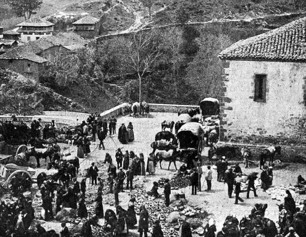Feria antigua Asturias