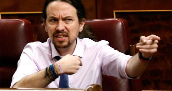 Pablo Iglesias bravucón