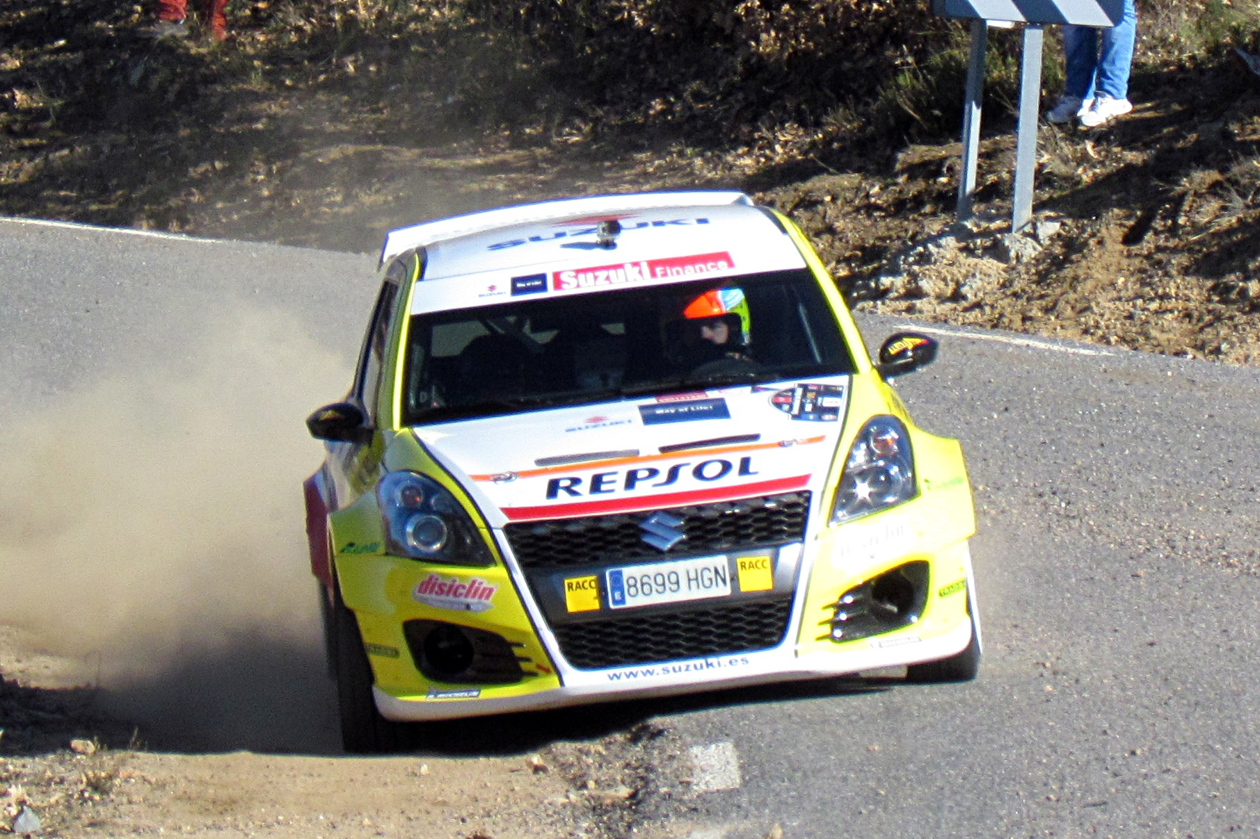 Antxustegui Suzuki Swift 2RM Madrid 2015