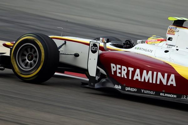 Haryanto Campos Racing Barhein GP2