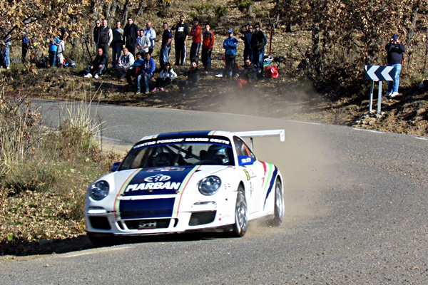Dani Marbán Rallye Madrid, Porsche 911