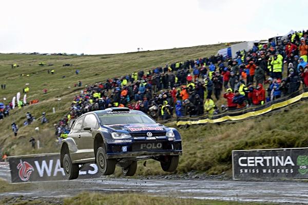 Ogier, Gales VW Polo WRC