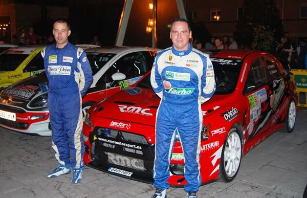Oscar Palacio y Enrique Velasco