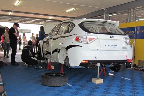 Subaru Imprea STi Promotion