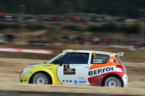 Fuster Suzuki Rallye Madrid
