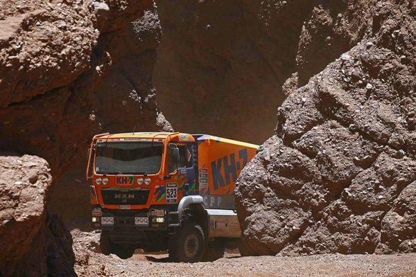 Dakar 2016 Camion KH7 Juvanteny