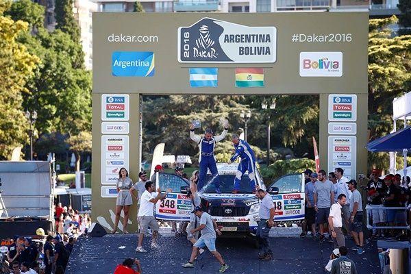 Foj Dakar 2016 Toyota