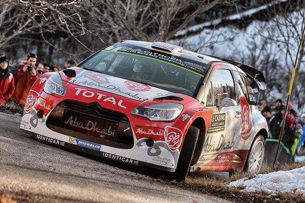 Kris Meeke Shakedown Rallye Montecarlo