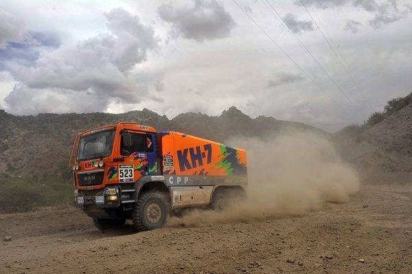 juvanteny criado camion KH7 Man produccion