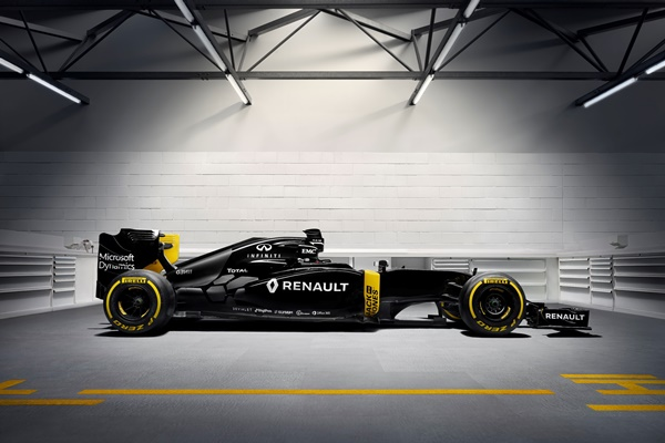 Infiniti-Renault F1 2016