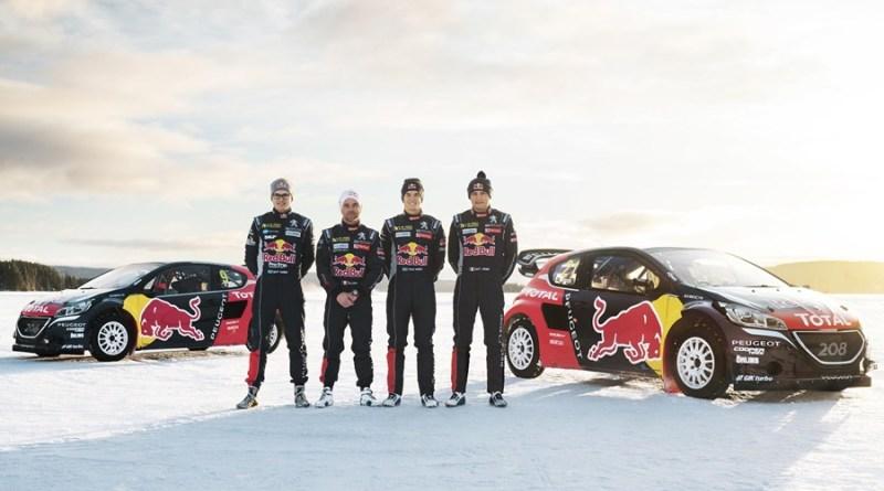 equipo peugeot 208 vrx supercar rallycross
