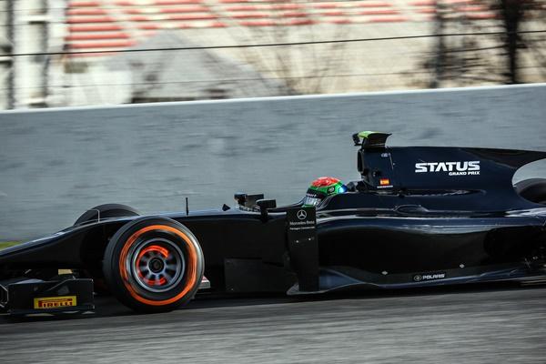 Sergio Canamasas Status GP2