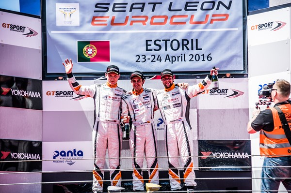 Stian Azcona Langeveld podio seat leon eurocup estoril 2016