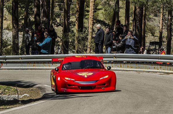 cazorla subida canencia speed car