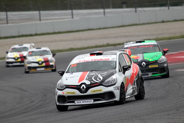 clio cup barcelona 2016