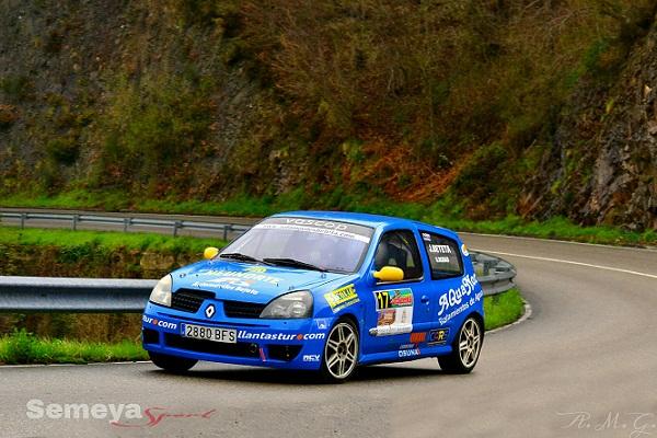 Javier Beteta - Renault Clio - ganador categoría II