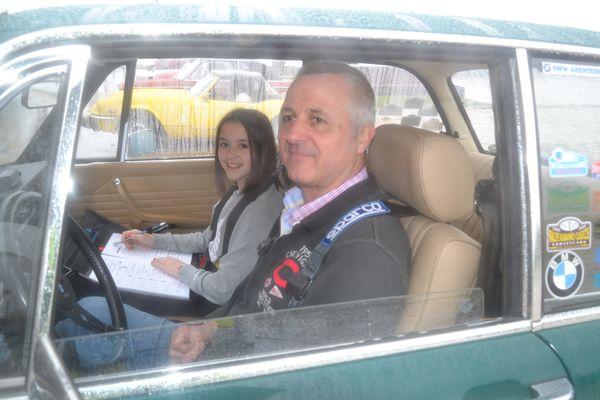 LA COPILOTO MAS JOVEN Rallye Descubrimiento