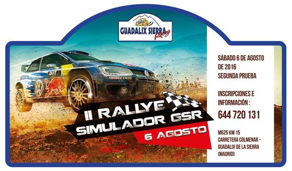 PLACA Rallye SIM 2 agosto