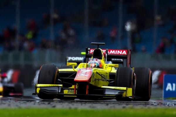 campos racing gp2 evans