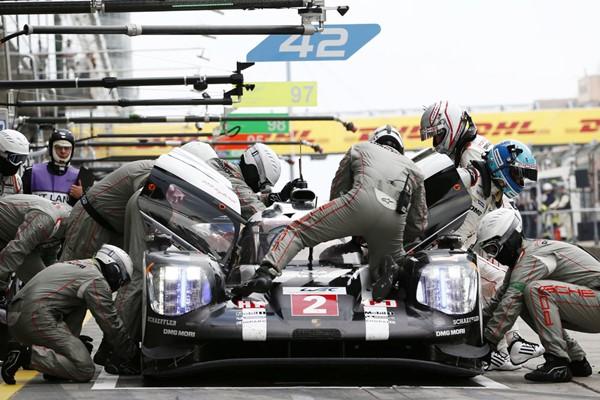 porsche 919 asistencias box nurburgring