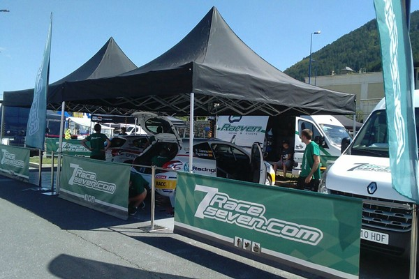 RaceSeven Lozere 208 rally cup