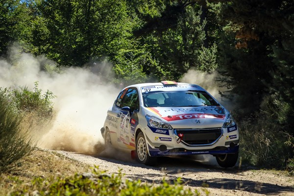 pepe lopez 208 rally cup langres