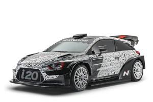 Hyundai presenta su i20 2017 WRC en el Salón de París
