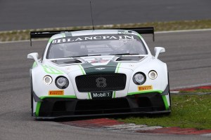bentley Blancpain series soucek
