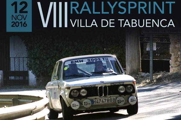 Cartel VIII Rallysprint Tabuenca